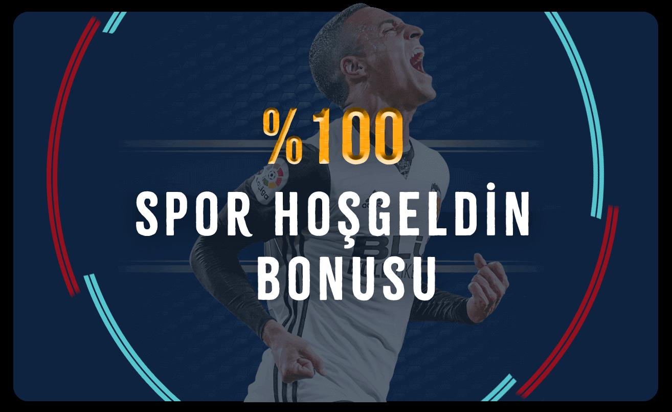 %100 Spor Hoş Geldin Bonusu...